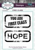 CE Rubber Stamp by Andy Skinner - First Class - CEASRS024